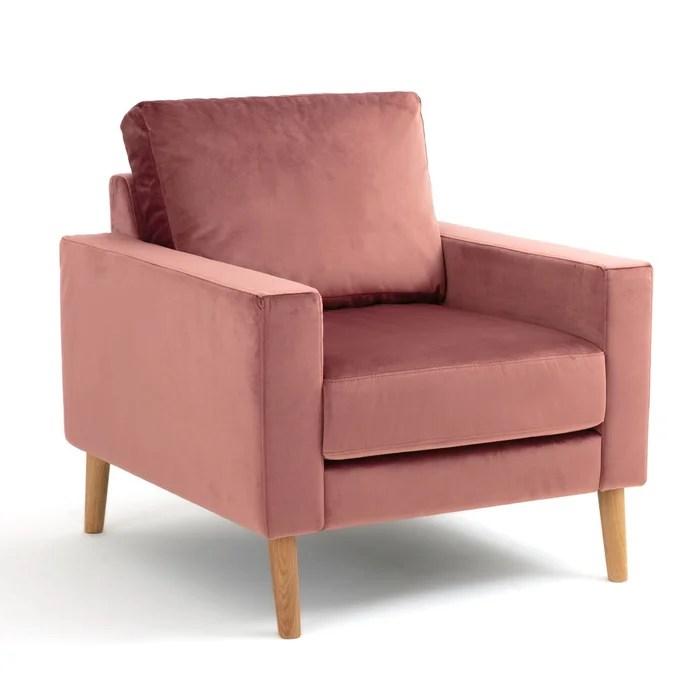 fauteuil fixe stockholm velours confort excellence