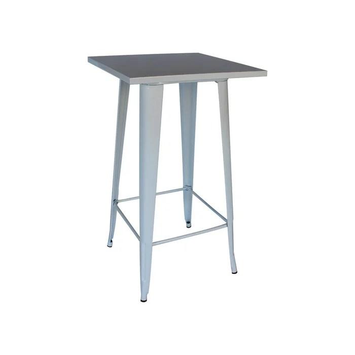 table haute metal anita