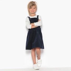 Imagen de Vestido pichi de pana 3-12 años abcd'R