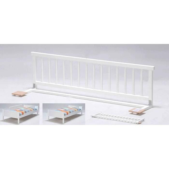 barriere de lit bebe en bois massif 120 cm 120 cm