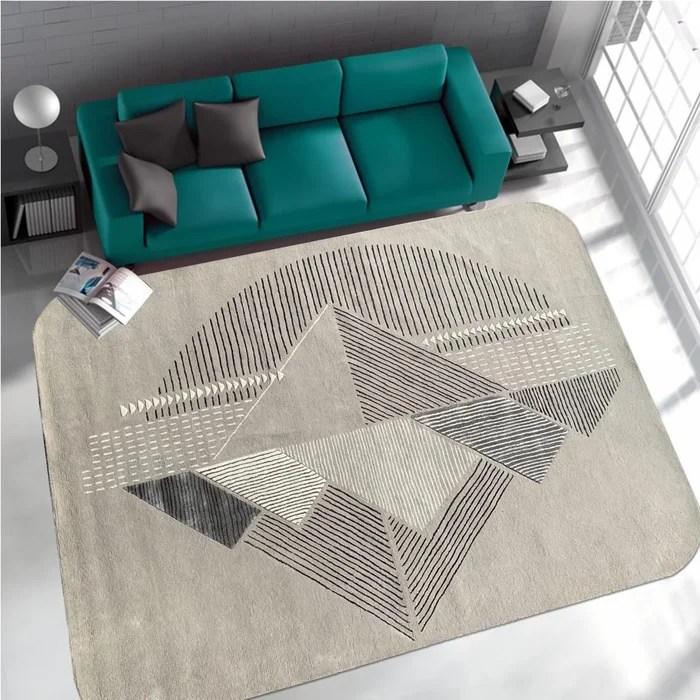 tapis design et moderne art deco rounded corner