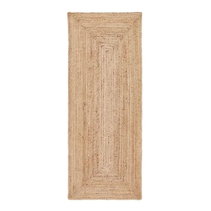 tapis de couloir en jute hempy