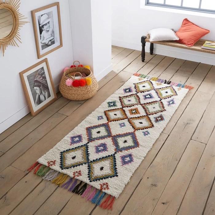 tapis de couloir style berbere ourika
