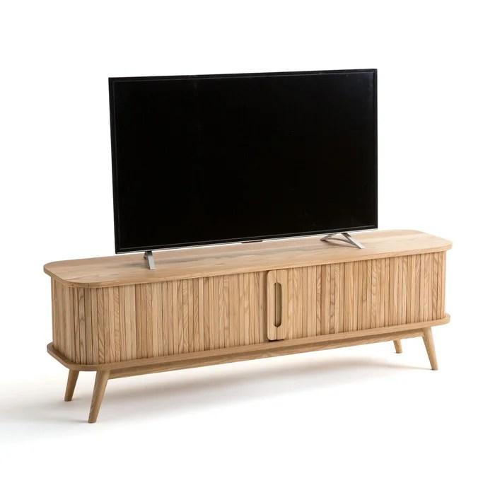 meuble tv 2 portes coulissantes wapong