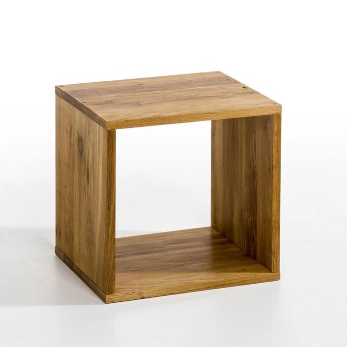 Cube De Rangement Chne Box 2 Modles Naturel AmPm La