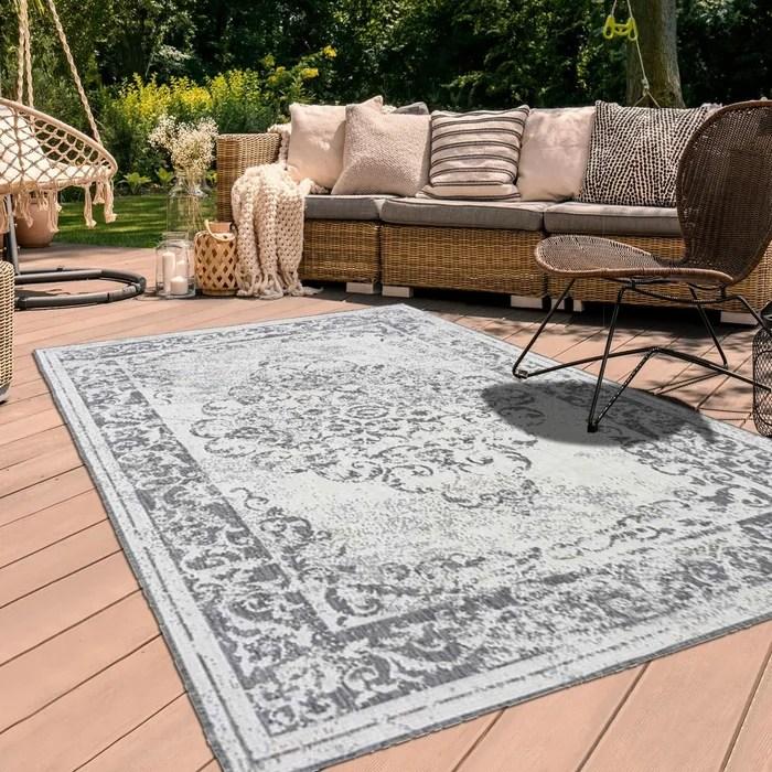 tapis exterieur bc medaillon reversible