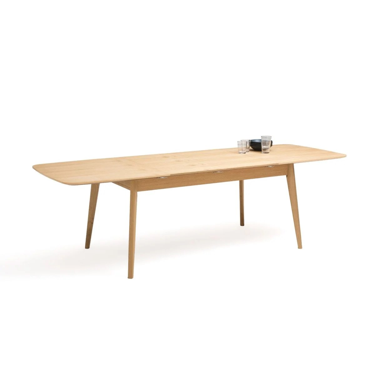 table repas extensible chene 4 8 couverts biface
