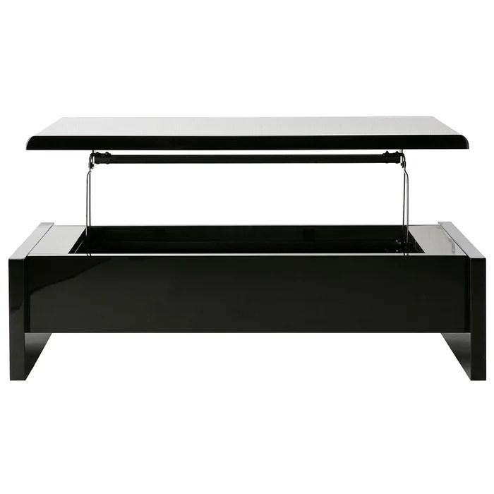 table basse relevable design avec rangement lola