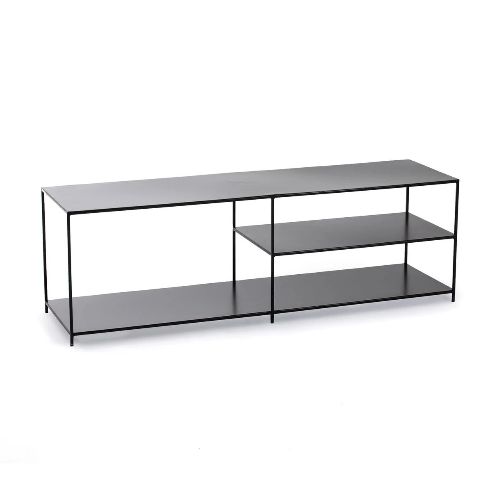 meuble tv enfilade metal romy