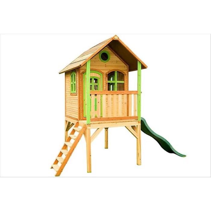 cabane enfant en bois sur pilotis laura axi
