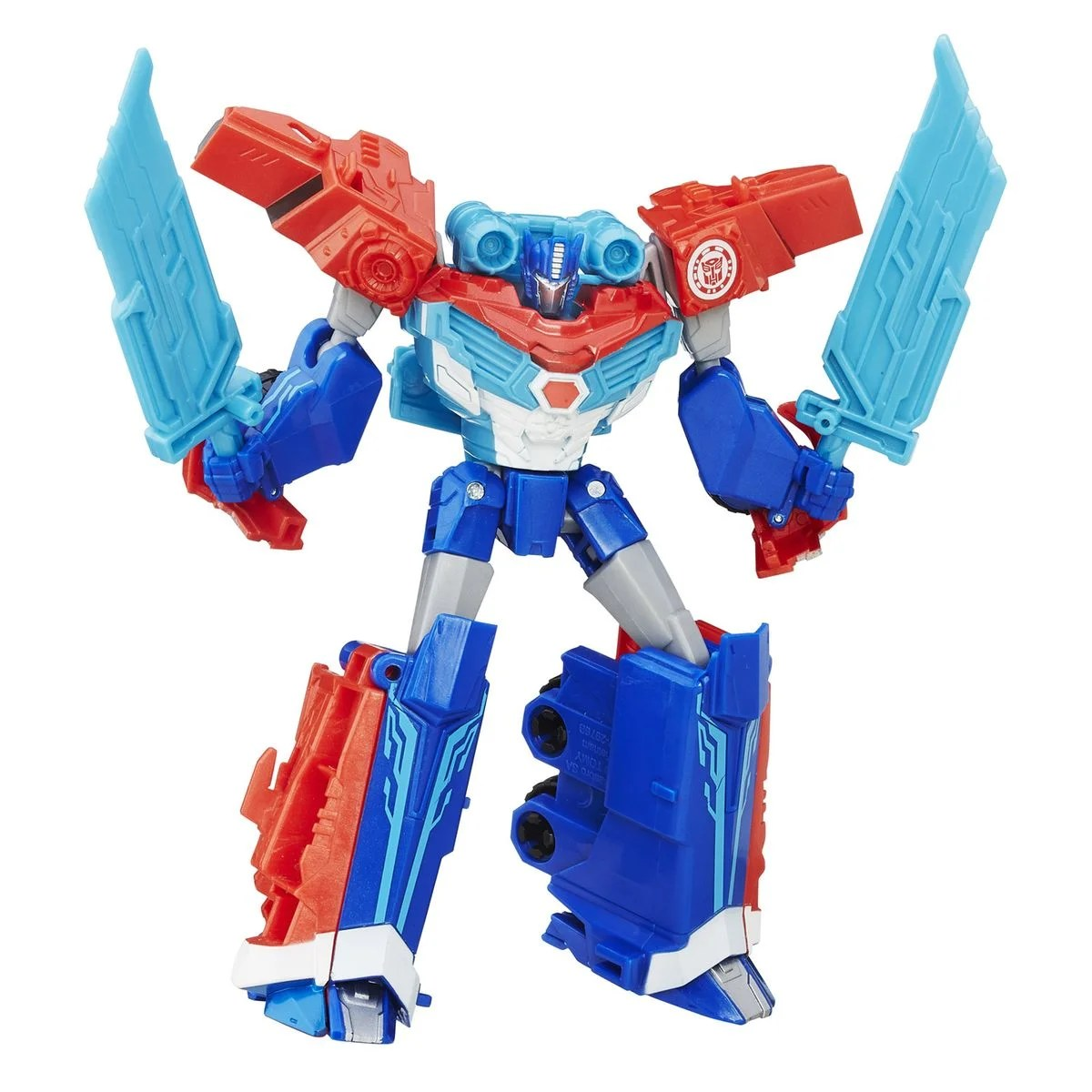 Transformers Robot In Disguise Deluxe Warrior Optimus