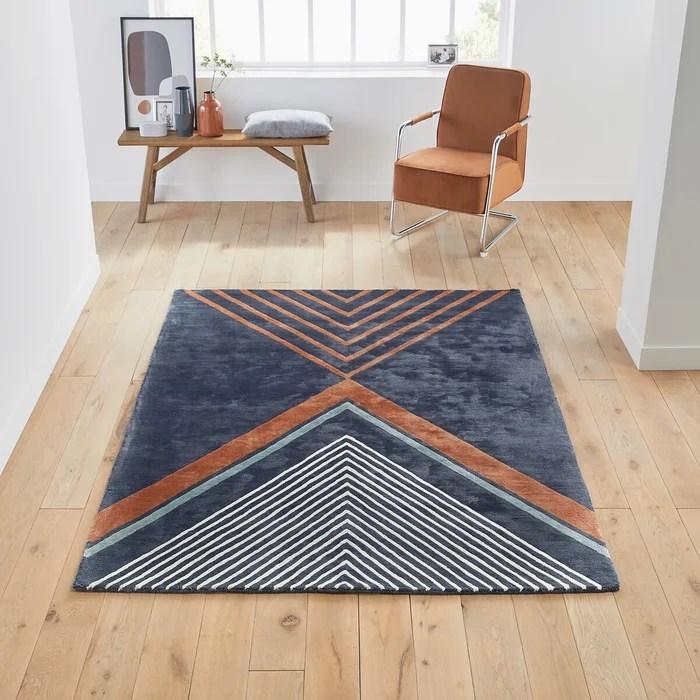 tapis en viscose palazzo