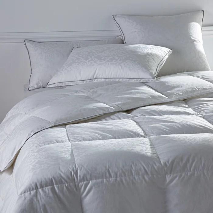 reverie duck feather bolster pillow