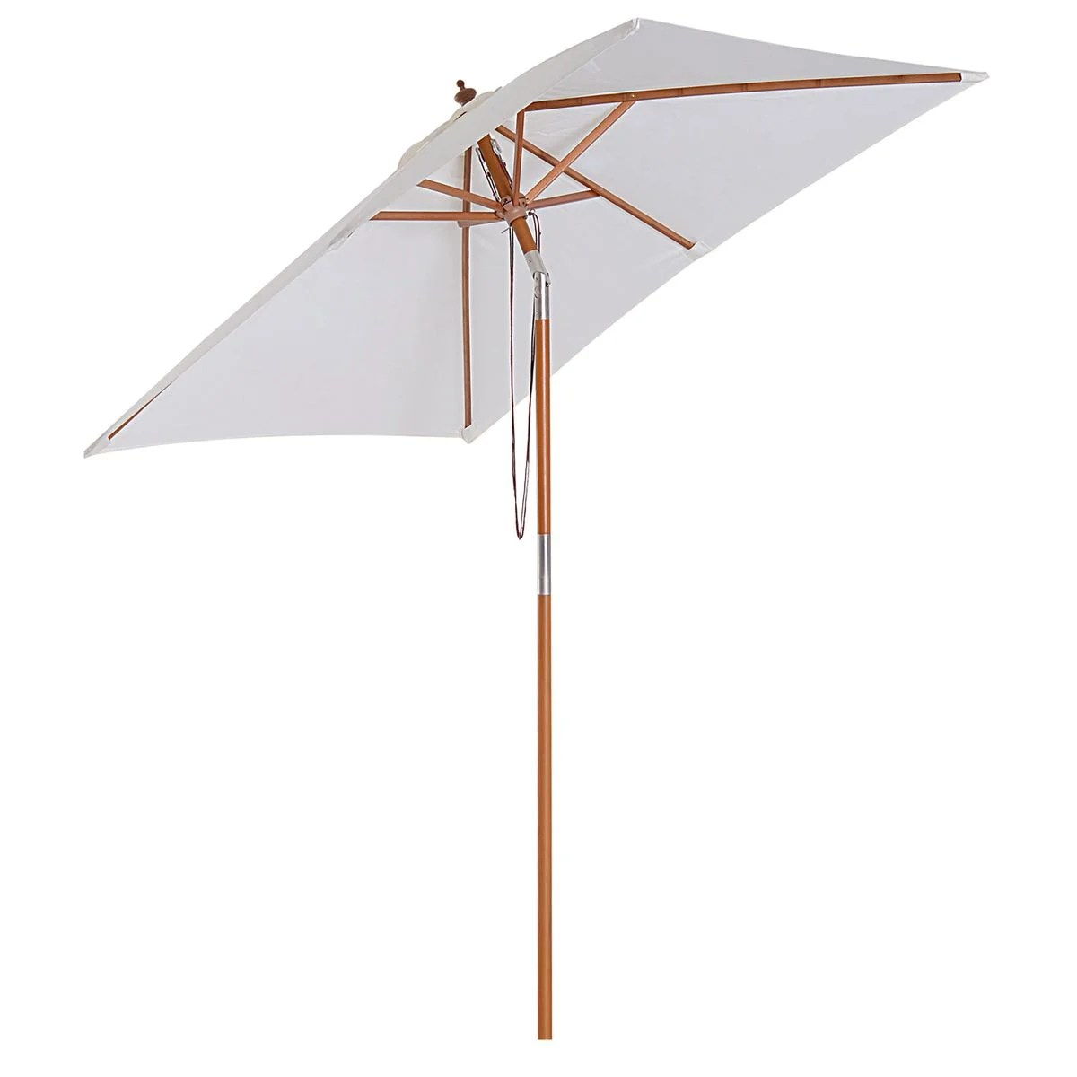 parasol rectangulaire inclinable dim 2l x 1 5l x 2 3h m