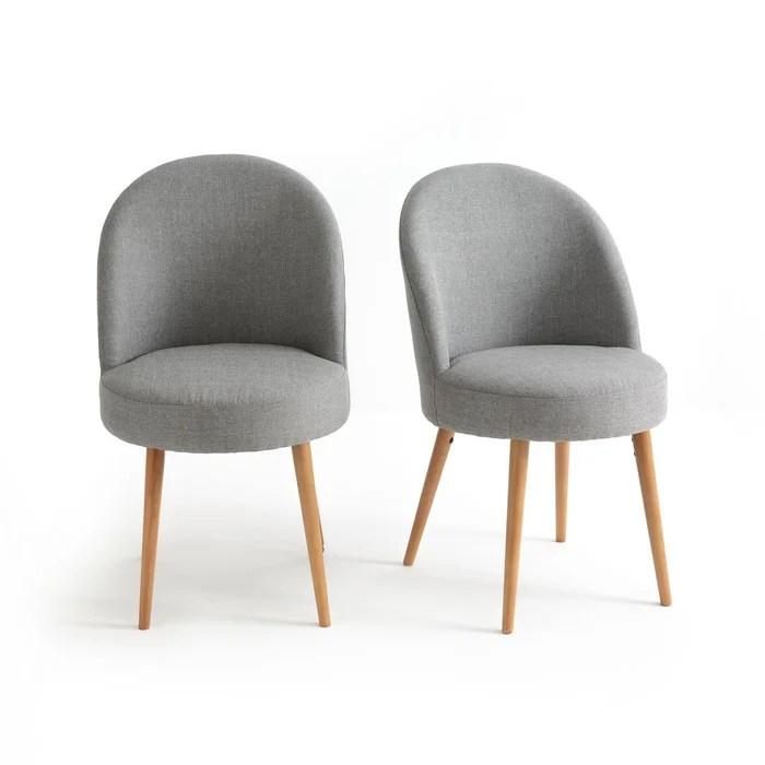 lot de 2 fauteuils de table quilda
