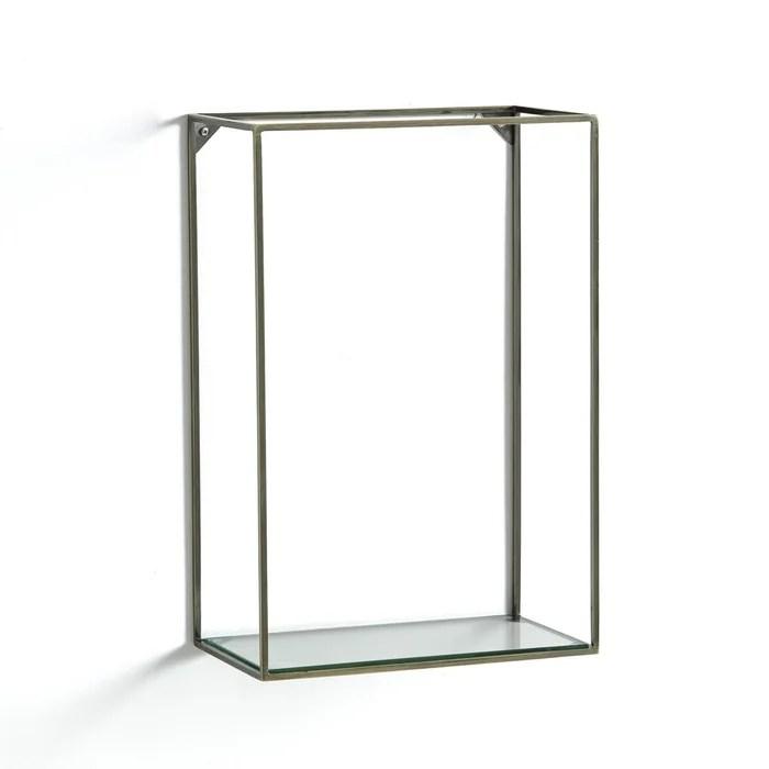etagere verticale metal verre oshota