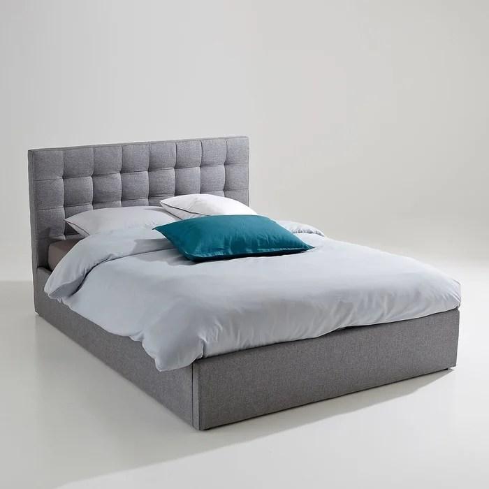 lit coffre avec sommier relevable gennie