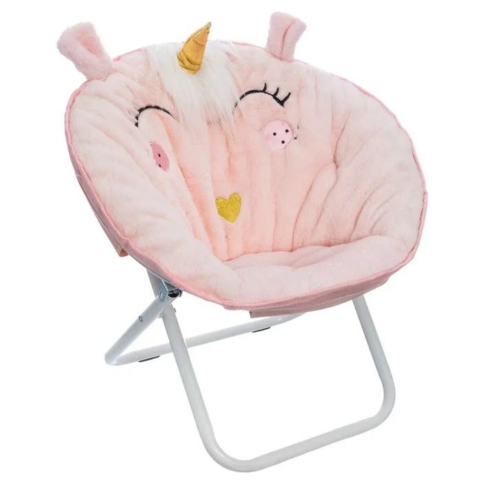 fauteuil loveuse enfant pliante licorne