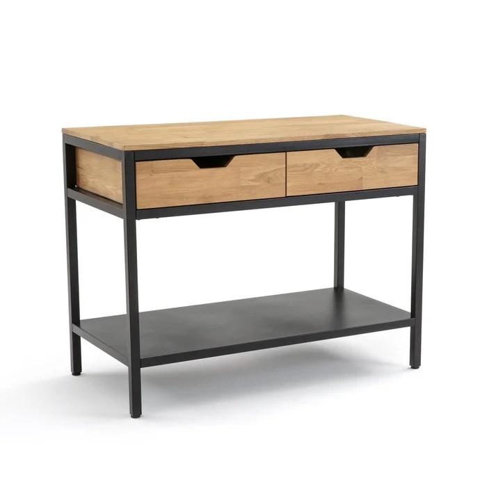 meuble de cuisine 2 tiroirs hiba