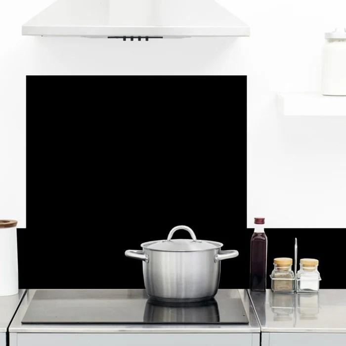 credence cuisine aluminium total black l60xh70cm