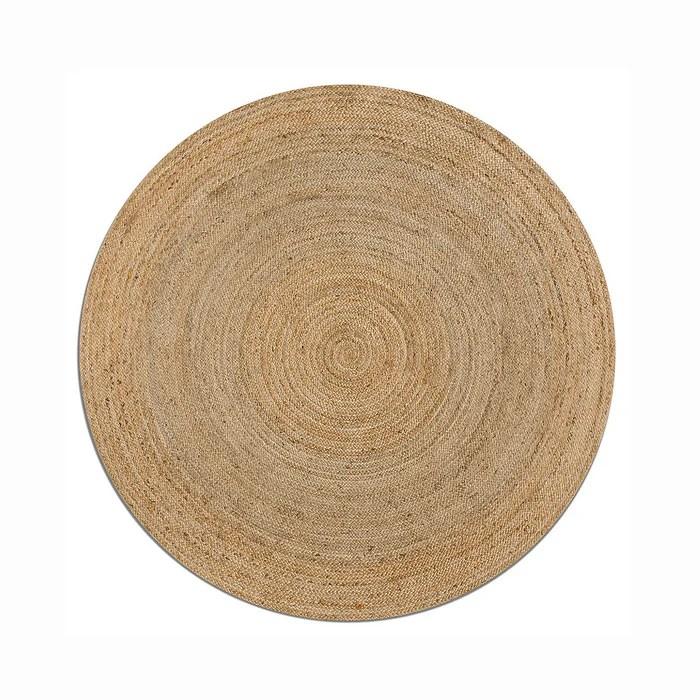tapis rond en jute hempy o250 cm