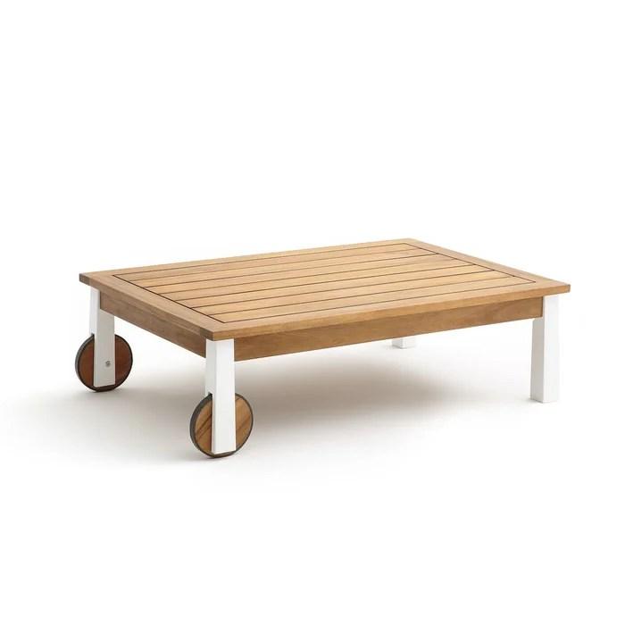 table de jardin ampm la redoute