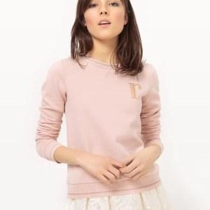 Imagen de Sudadera de algodón, cuello redondo MADEMOISELLE R