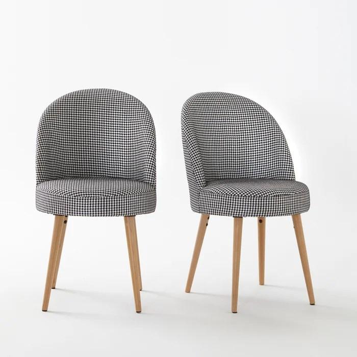 fauteuil de table lot de 2 quilda