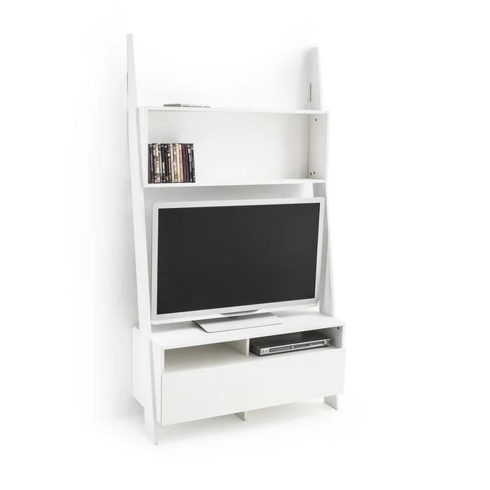 etagere echelle meuble tv domeno