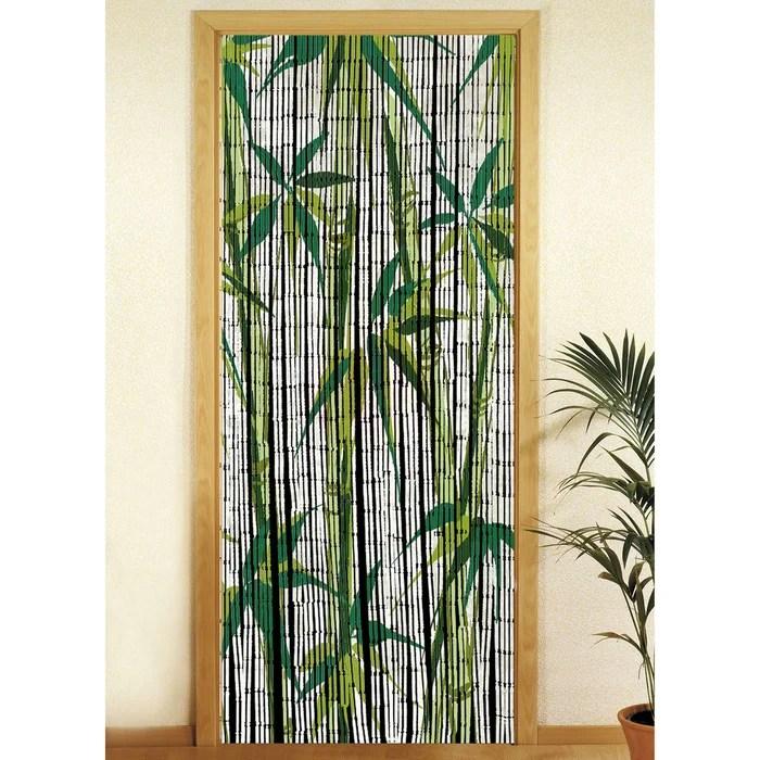 rideau de porte bambou bamboo
