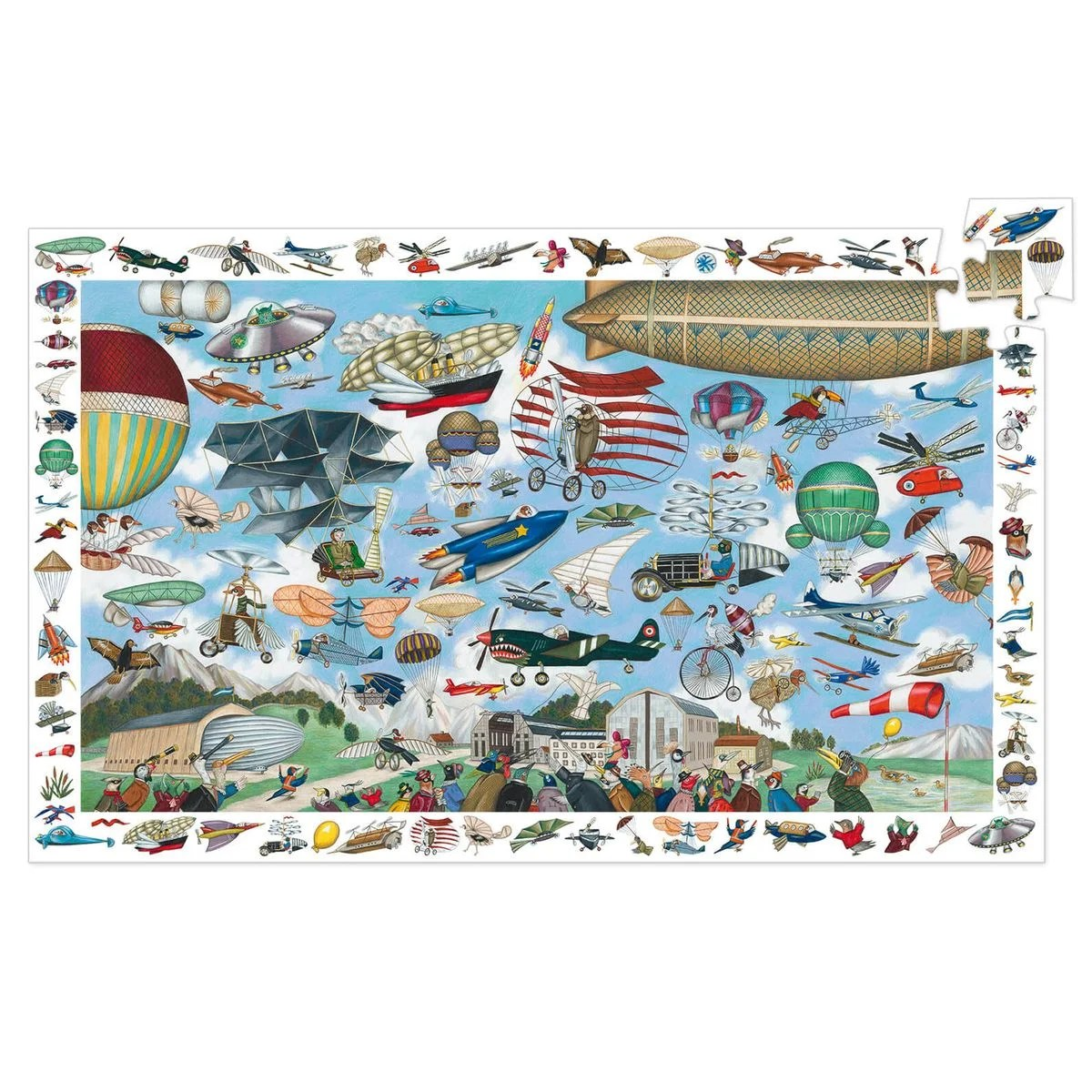 puzzle 200 pieces puzzle observation aero club