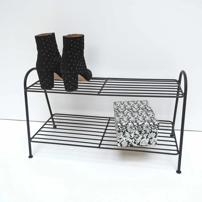 etagere a chaussures en metal