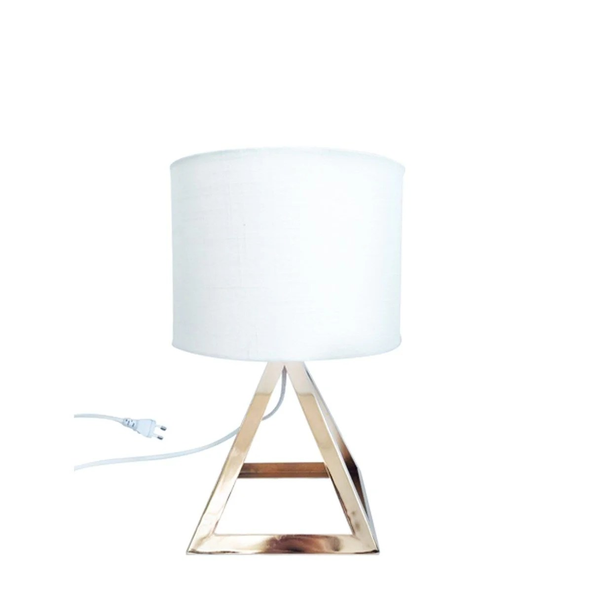 lampe pied triangle