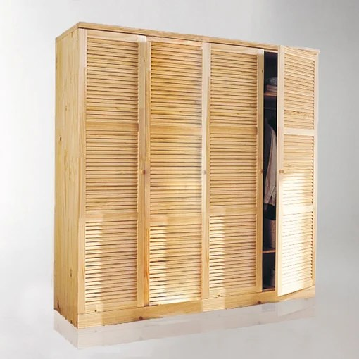 armoire mayor pin massif h205 cm
