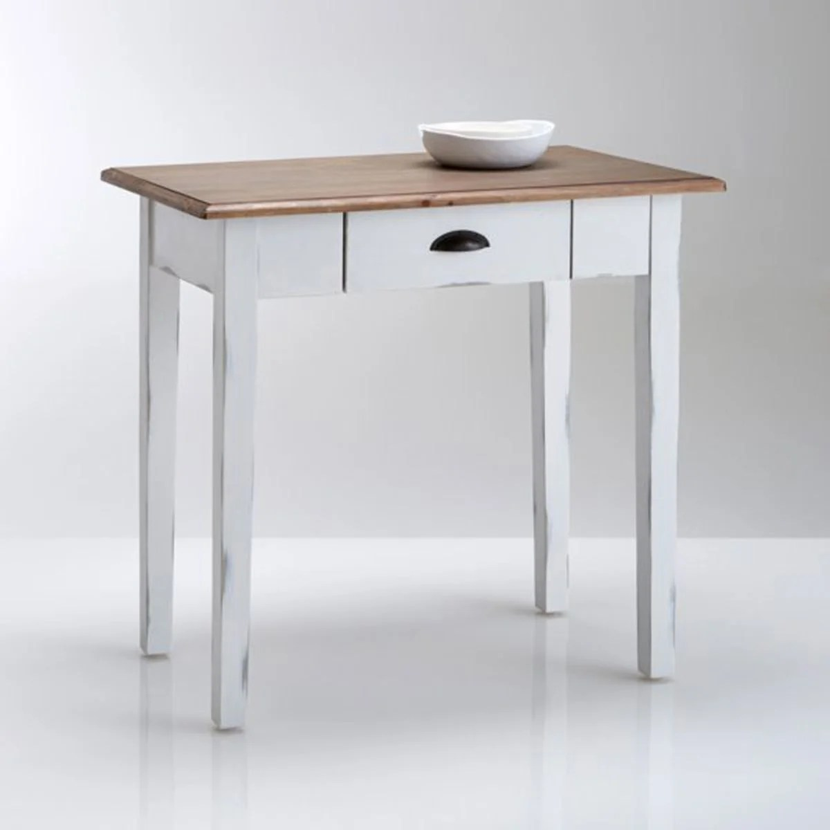 table de cuisine pin massif 1 a 2 couverts roside