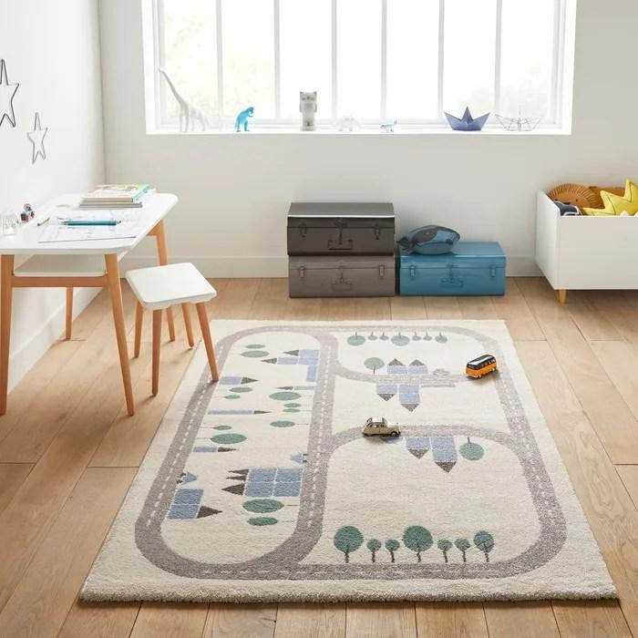 tapis enfant motif circuit korting