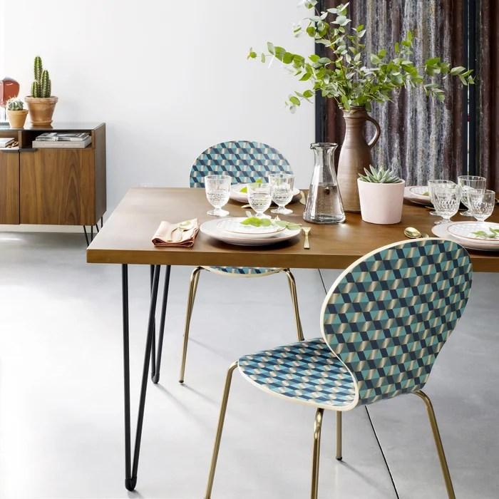 watford walnut veneer dining table
