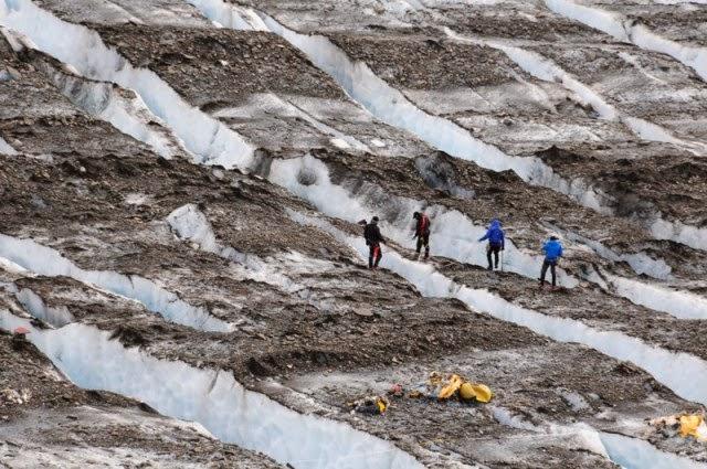 descubrimientos en glaciares 9