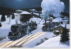 Christmas Card Holiday Greetings Denver And Rio Grande