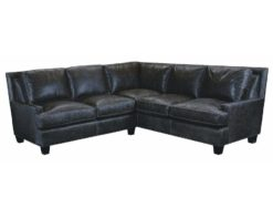 classic leather sectionals american