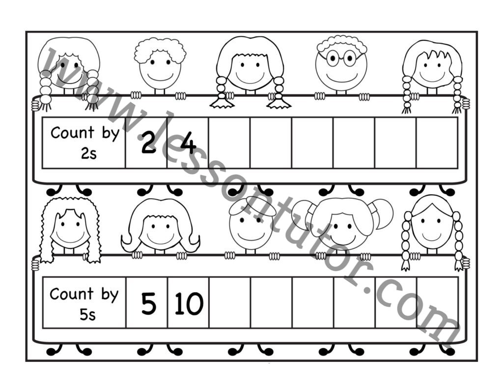 Coloring And Cutting Mask Worksheets Kindergarten