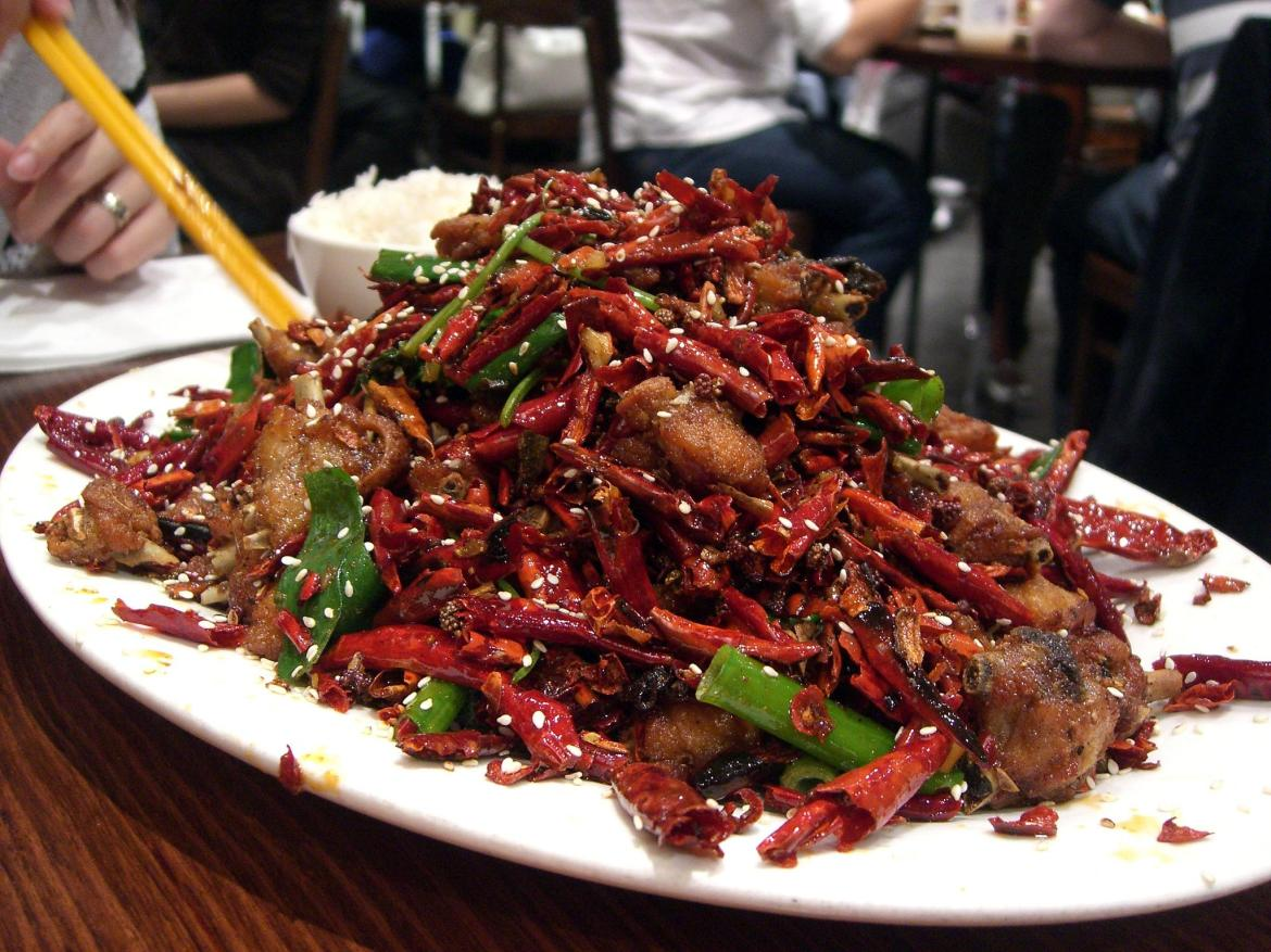 Image result for spicy food