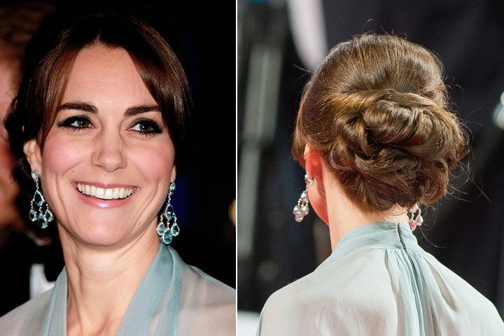 Gaya rambut Kate Middleton: Princess Look.