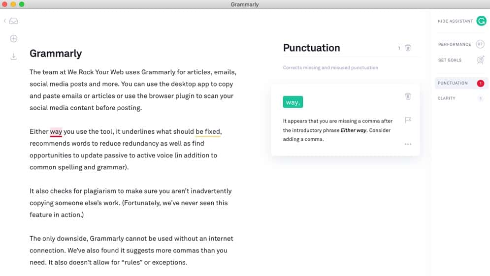 Grammarly helps to cut down time on editing. Professionals in several industries like law, healthcare, academia, marketing, engineering and journalism use it to provide instant feedback on the accuracy of writing in English.