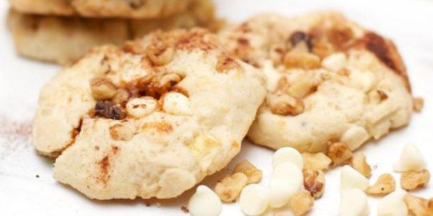 Cookies de caramelo da Apple.