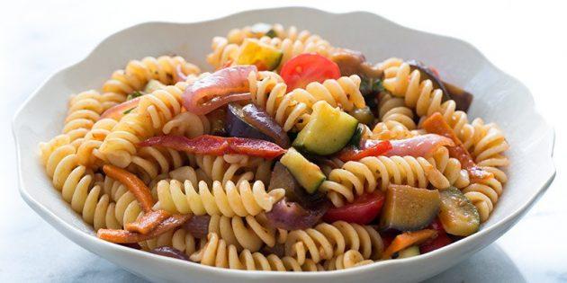 Recipes Incolla: Primaver Pasta con verdure