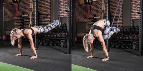 Упражнения для нижнего пресса с эспандером