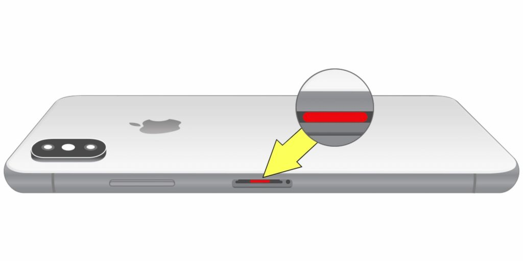 Суға баратын смартфонның ылғал сенсоры