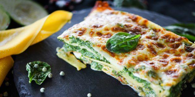 Receitas: lasanha com picada e queijo