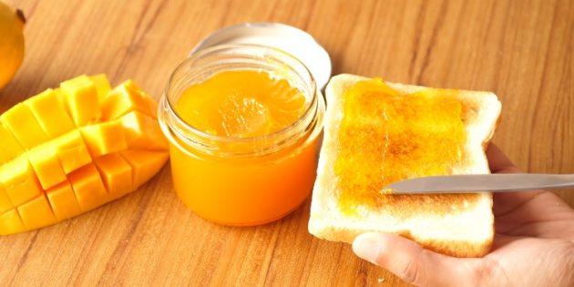 Come mangiare mango: marmellata di mango